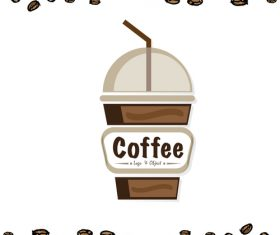 coffee logo design creative vector 08