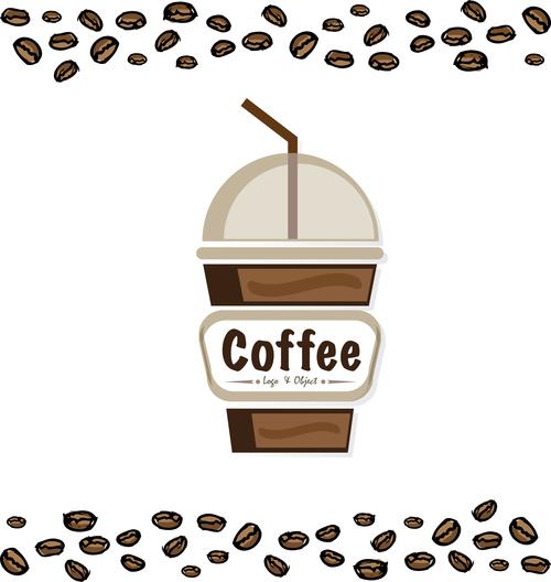 coffee logo design creative vector 08
