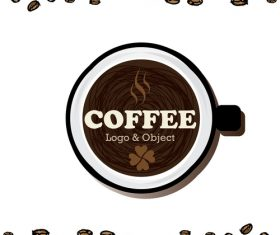 coffee logo design creative vector 09