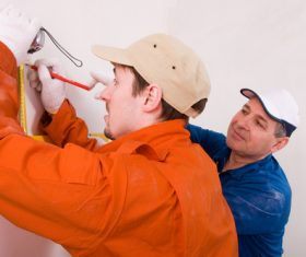 renovation worker Stock Photo 02