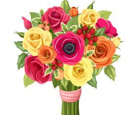 Roses flowers bouquet 02