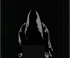 Hacker vector - for free download