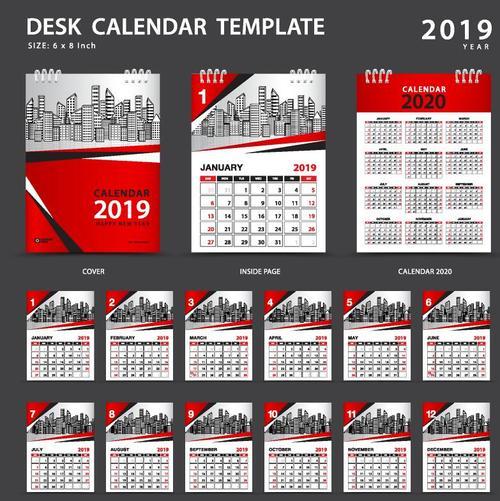 Calendar Design Cdr File Free Download : Desain kalender cdr