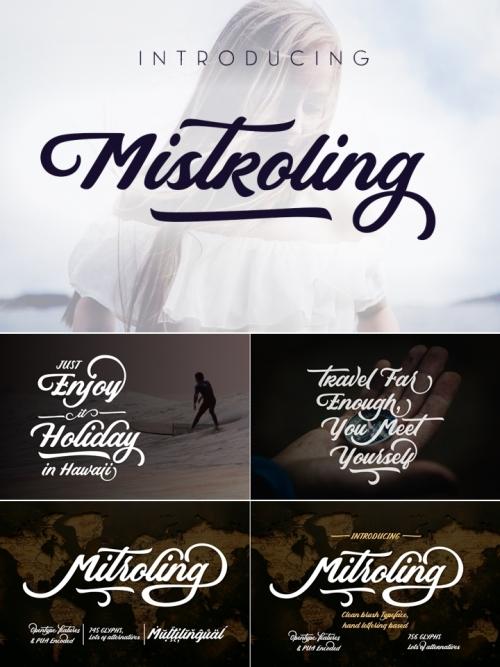 Mistroling Font   TTF