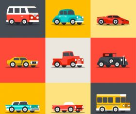 9 creative vehicles vector design