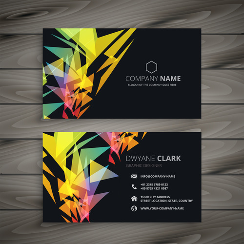 Abstract Black Business Card Template Creative Vector Free Download,Watercolor Small Simple Owl Tattoo Designs