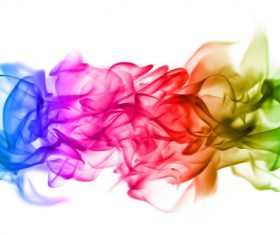 Abstract colored flame Stock Photo 05