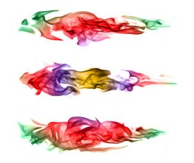 Abstract colored flame Stock Photo 07