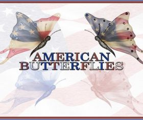 American Butterflies Photoshop Brushes