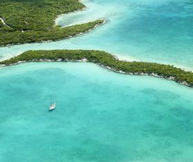 Bahamas sea view Stock Photo 01