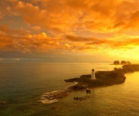 Bahamas sea view Stock Photo 03