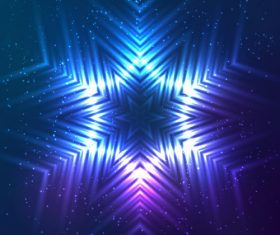 Beautiful cosmic snowflake background vectors 06