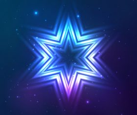 Beautiful cosmic snowflake background vectors 15