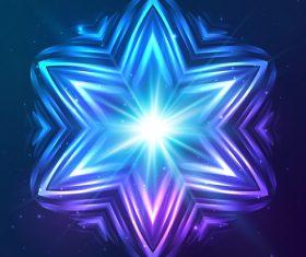 Beautiful cosmic snowflake background vectors 21