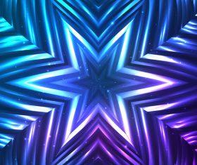 Beautiful cosmic snowflake background vectors 25