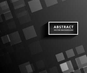 Black abstract modern backgrouns vector 01