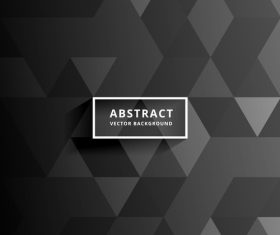 Black abstract modern backgrouns vector 03