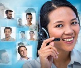 Business online communication Stock Photo 14