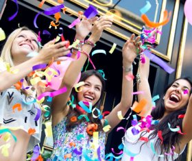 Carnival party Stock Photo 02
