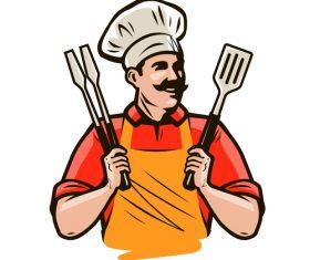 Chef illustration vectors