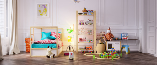Childrens room and toys Stock Photo 02