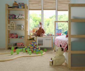 Childrens room and toys Stock Photo 04