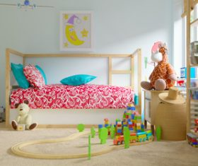 Childrens room and toys Stock Photo 05