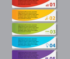 Colorful banners vectors template 02