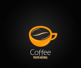 Creative coffee logo design vectors 01