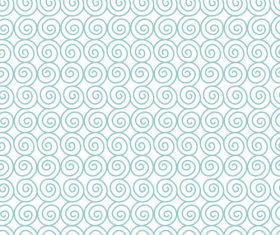 Cricles lines seamless pattern vector 02