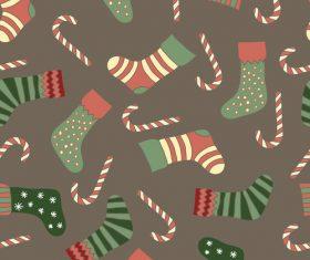 Cute christmas patterns seamless vectors 02