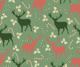 Cute christmas patterns seamless vectors 03