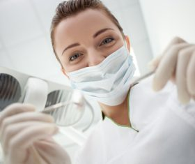 Dental nurse Stock Photo 04