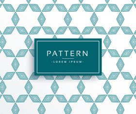 Elegant pattern template design vector 01
