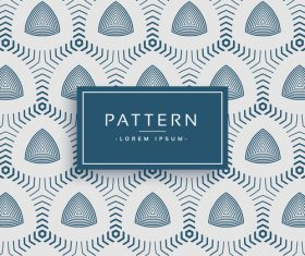 Elegant pattern template design vector 03