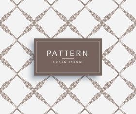 Elegant pattern template design vector 04