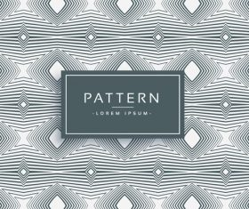 Elegant pattern template design vector 06