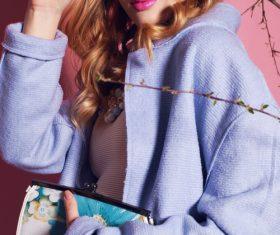 Fashion Pretty Clothing Model Stock Photo 04