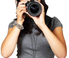 Female photographer to capture Stock Photo 03