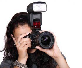 Female photographer to capture Stock Photo 04