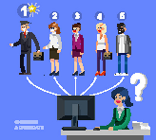 Flat business people design vector 08