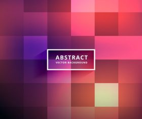 Grid abstract background vector 01