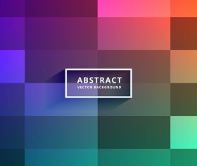 Grid abstract background vector 03