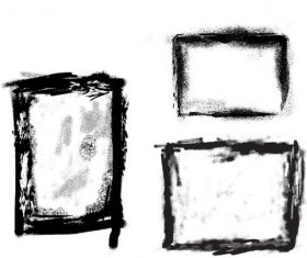Grunge Borders and Frames Photoshop Brushes