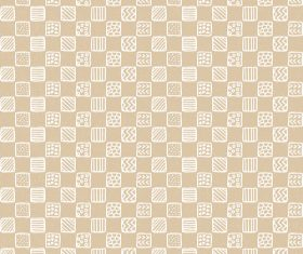 Hand drawn plaid pattern vector 01