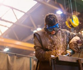Industrial Welder Stock Photo 03