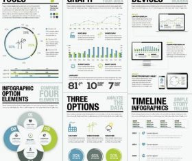 Infographic tools illustration design vector 02
