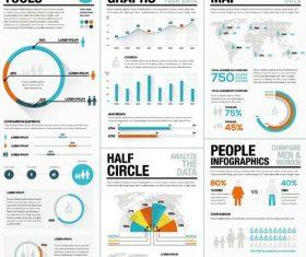 Infographic tools illustration design vector 03