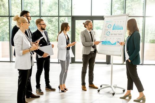 Like customer introduction product market share Stock Photo