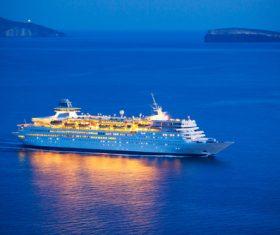 Luxury tourist cruise Stock Photo 01